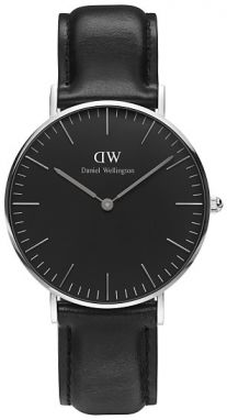 Daniel Wellington Classic Black Sheffield Silver DW00100145