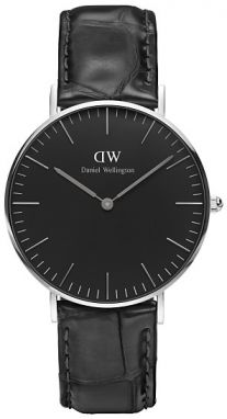 Daniel Wellington Classic Black Reading Silver DW00100147