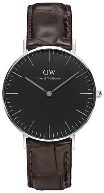 Daniel Wellington Classic Black York Silver DW00100146