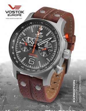 Vostok Europe Expedition North Pole 1 Titanium 6S21/595H298
