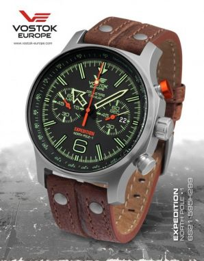 Vostok Europe Expedition North Pole 1 Titanium 6S21/595H299