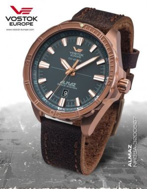Vostok Europe Almaz Bronze NH35A/320O507
