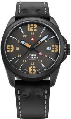 Swiss Military Dual Time 29000BPL-8LBK
