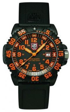 Luminox New Navy Seals 3050 - PU strap, colored numbers A.3059