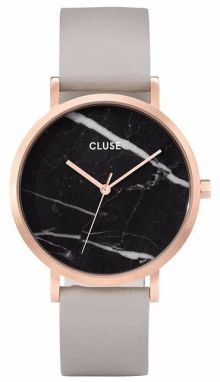 Cluse La Roche Rose Gold Plated Grey CL40006