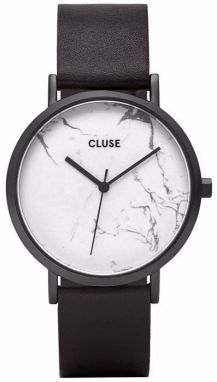 Cluse La Roche Full Black/White Marble CL40002