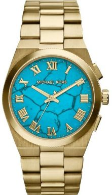 Michael Kors Channing Turquoise and Gold-Tone MK5894