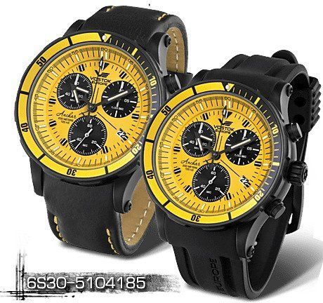 a459e8e3411 Vostok Europe Anchar chrono 6S30 5104185 značky Vostok Europe ...