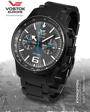 Vostok Europe Expedition North Pole 1 Chrono Line 6S21/5954198 B