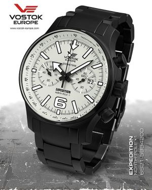 Vostok Europe Expedition North Pole 1 Chrono Line 6S21/5954200 B
