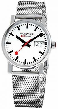 Mondaine Big Date 30 mm A669.30305.11SBM