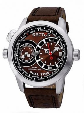 Hodinky SECTOR NO LIMITS Action Oversize, Dual Time R3251102055