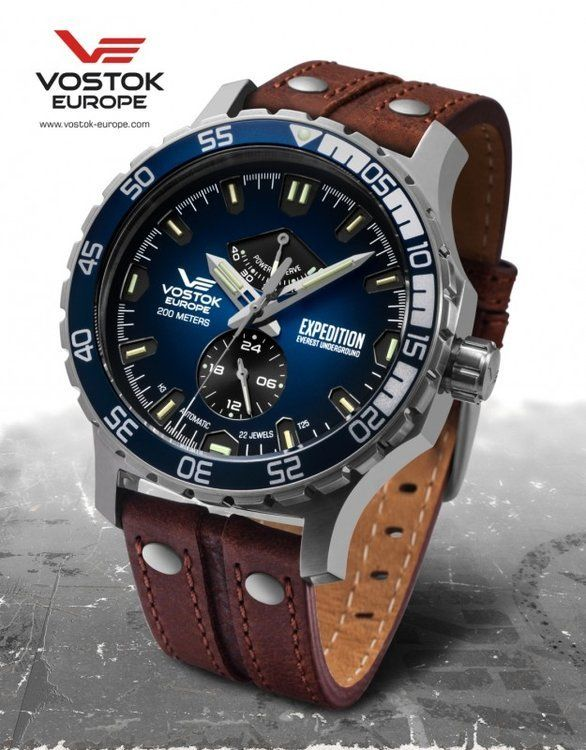 Vostok Europe Expedition Everest Underground automatic line YN84 597A545 e4955ba9f7