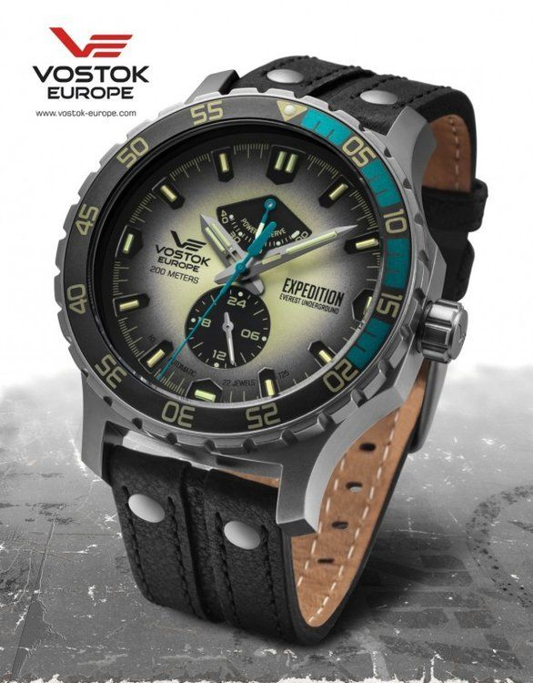 86cd98b01ef Vostok Europe Expedition Everest Underground automatic line YN84 597A544