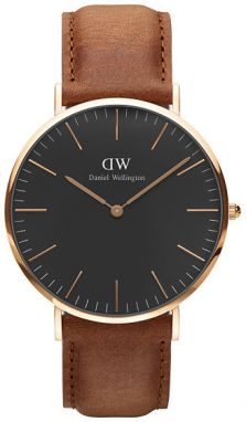 Daniel Wellington Classic Black Durham Gold DW00100126
