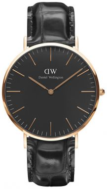 Daniel Wellington Classic Black Reading Gold DW00100129