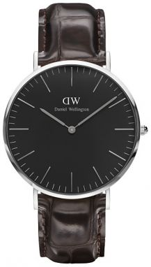 Daniel Wellington Classic Black York Silver DW00100134