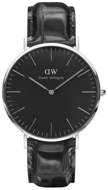 Daniel Wellington Classic Black Reading Silver DW00100135