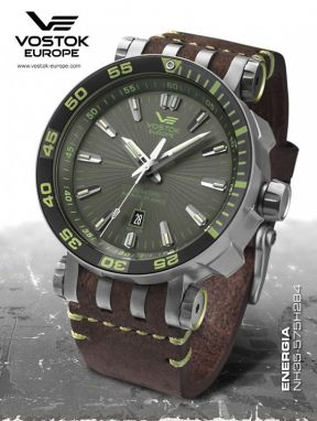 Vostok Europe ENERGIA Rocket Stainless steel line NH35/575H284