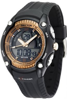 SECTOR NO LIMITS DIGITAL DUAL TIME STREET FASHION, R3251574001