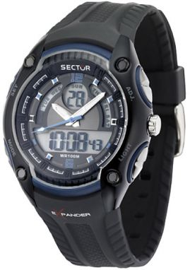 SECTOR NO LIMITS DIGITAL DUAL TIME STREET FASHION, R3251574003