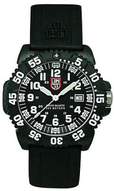 Luminox New Navy Seals 3050 - PU strap, colored numbers A.3051