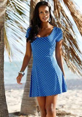 Beachtime Plážové šaty Beachtime hnedosivá »ibištek« 46 značky ... 21121af5b87
