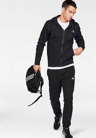 8bc8c5ae6fef adidas Performance adidas Performance Športové oblečenie »COTTON ENERGIZE  TRACKSUIT« čierna - N-veľkost 10 (XL) značky adidas Performance - Lovely.sk