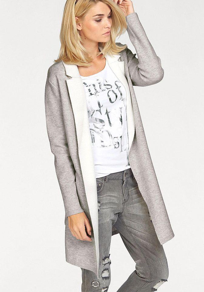 45c00178b6f6 Laura Scott Laura Scott Dlhý pletený sveter sivá-vlnená biela - N-veľkost  32 34 značky LAURA SCOTT - Lovely.sk