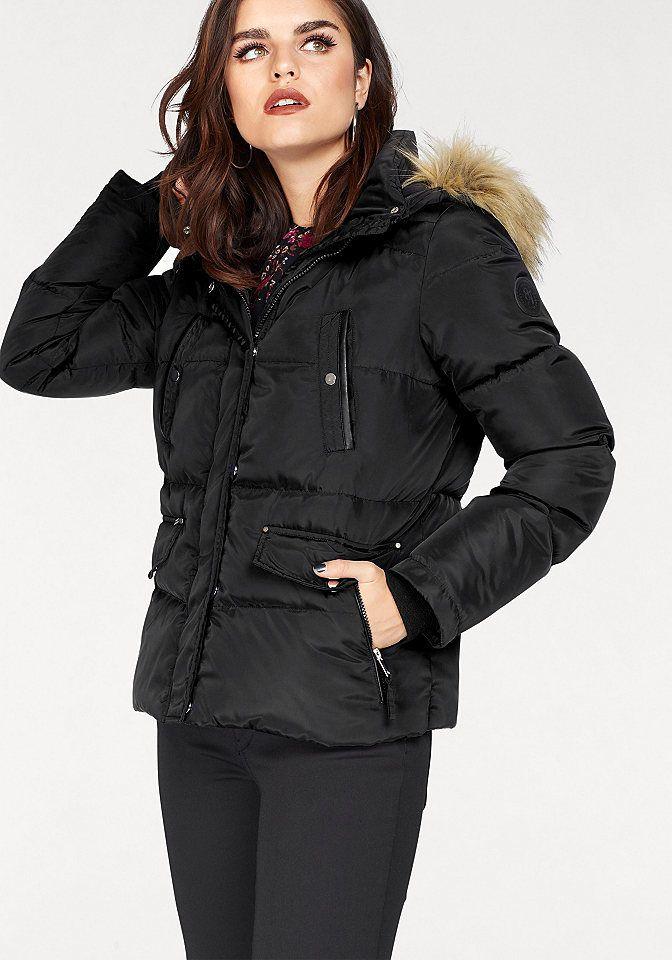 893812f99ab5 Vero Moda Páperová bunda »FEA« Vero Moda bordová - N-veľkost XS (34) značky Vero  Moda - Lovely.sk