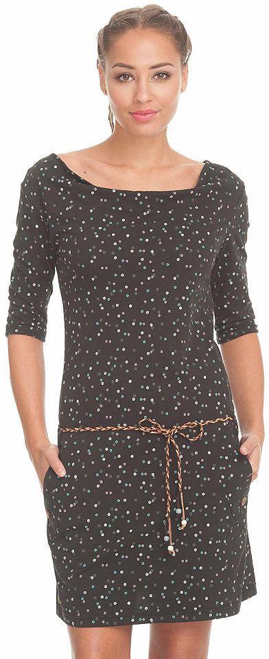 9fb279c75 Ragwear Ragwear Vzorkované šaty »Tanya Organic« čierna-vzorovaná -  N-veľkost L (40) značky Ragwear - Lovely.sk