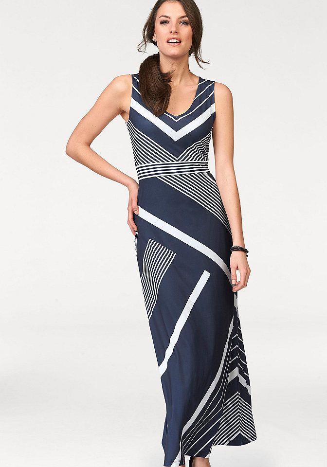 4c57839e2846 Tamaris Džersejové šaty Tamaris námornícka modrá-biela - N-veľkost 42  značky Tamaris - Lovely.sk