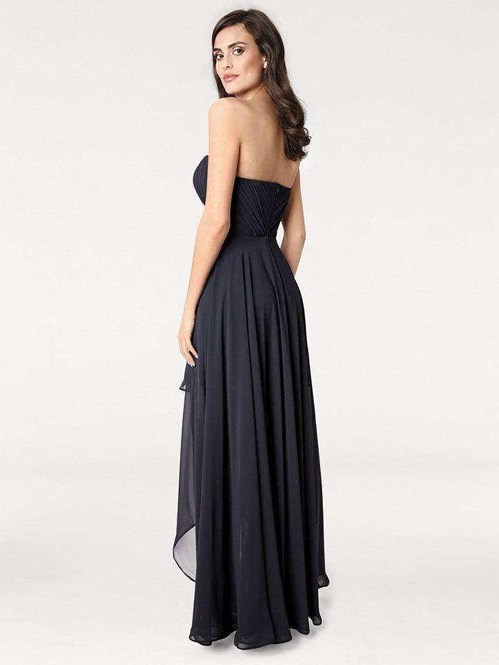 ASHLEY BROOKE by Heine Večerné šaty s korzetom Heine timeless námornícka  modrá 34 9751a2043b2