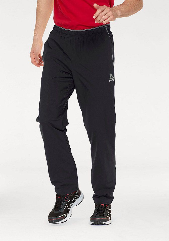 1d351f4f9ea1 Reebok Športové nohavice »WORKOUT READY WOVEN PANT« Reebok čierna -  N-veľkost S