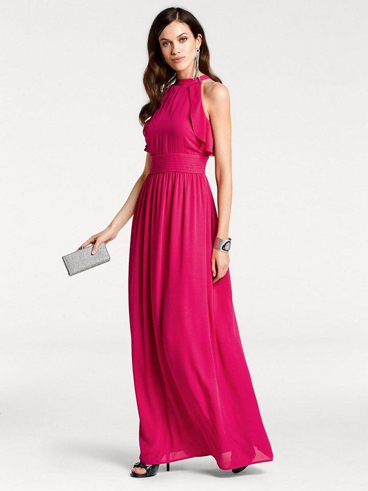 25dbb4d7810c ASHLEY BROOKE by heine Večerné šaty s ramienkom okolo krku Heine timeless  pink ružová - N-veľkost 46 značky Heine timeless - Lovely.sk