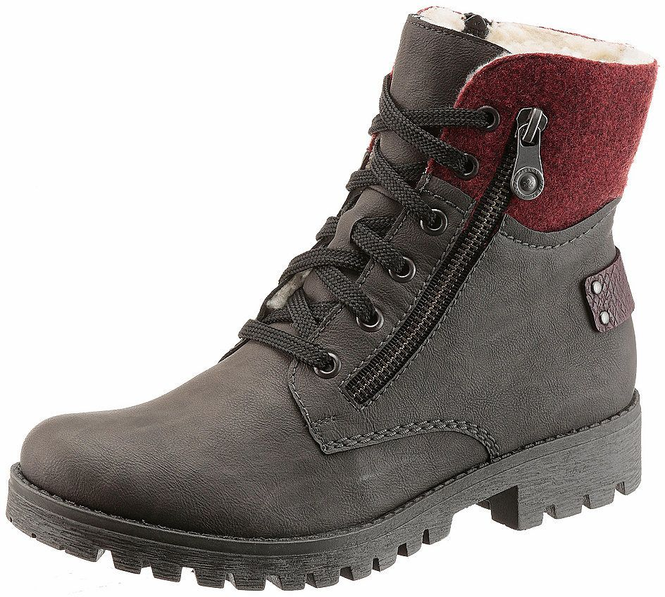 4dc7409b63 Rieker Zateplená obuv vysoká