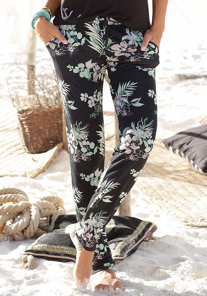 f41e3c251e4c LASCANA Plážové nohavice Lascana s potlačou 36 značky LASCANA ...