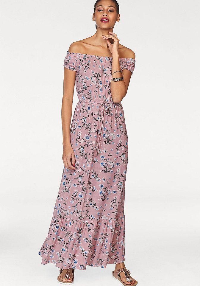 49e8c93b7f31 AJC Dlhé šaty AJC ružová kvetinová - N-veľkost 36 značky AJC - Lovely.sk