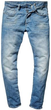 G-Star RAW Rifle strihu Slim »3301 Straight Tapered Fleck Denim« G-star raw medium-vintage-aged - dĺžka 35 Inch 30