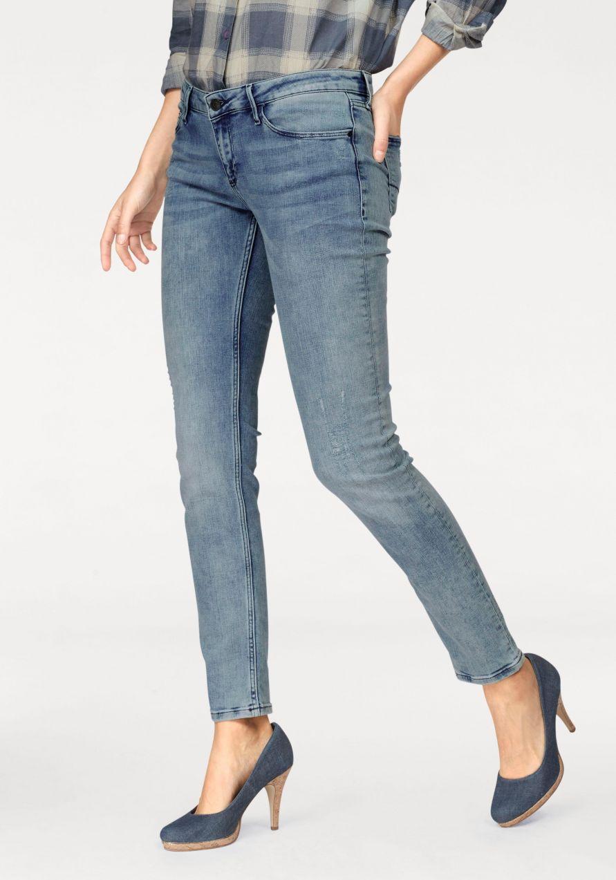 2a4e7a5af35d Cross Jeans® Skinny-fit- džínsy »Adriana« Cross jeans® modrá-prepraná -  dĺžka 32 Inch 31 značky Cross jeans® - Lovely.sk