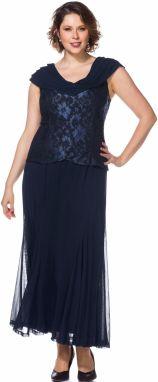 742f7c63997e sheego Style sheego Style Šifónové šaty vo vrstvenom vzhľade ...