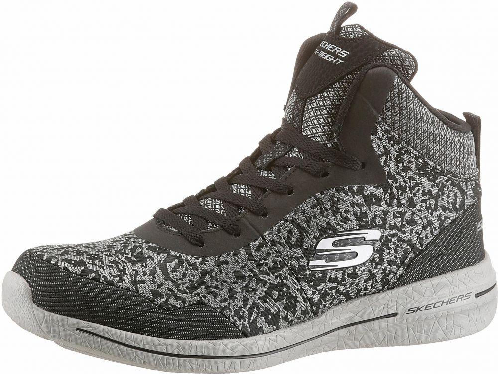 0e70b95c87ae Skechers Tenisky vysoké »Burst 2.0 Fashion Forwad« Skechers  čierna-strieborná - EURO veľkosti 37 značky Skechers - Lovely.sk
