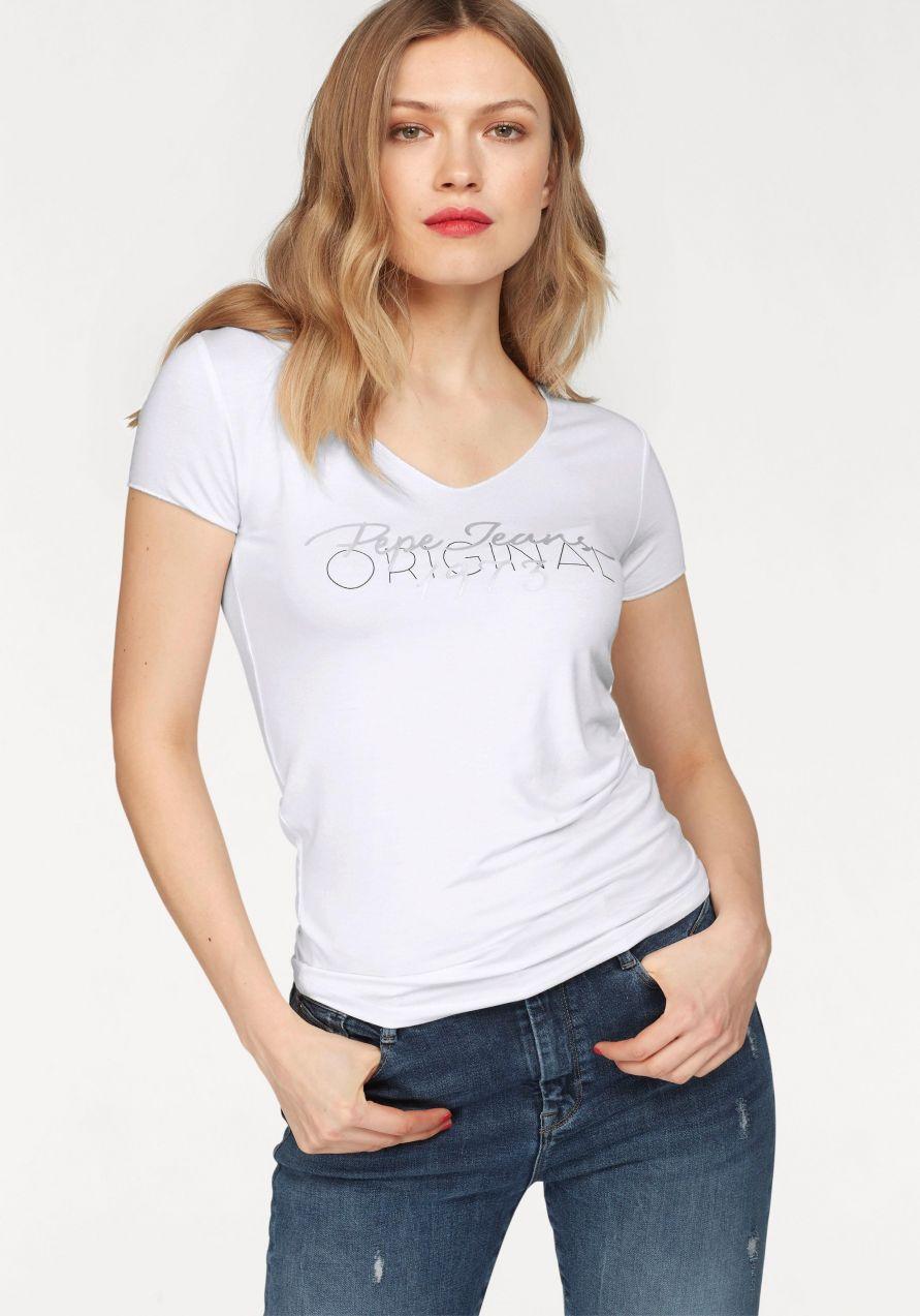 a7ab82ee54f Pepe Jeans Tričko »JANE« Pepe jeans značky Pepe Jeans - Lovely.sk