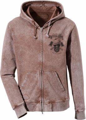 Pánsky sveter v kamelovej farbe OZONEE B 2433 - Lovely.sk 68d63cae90
