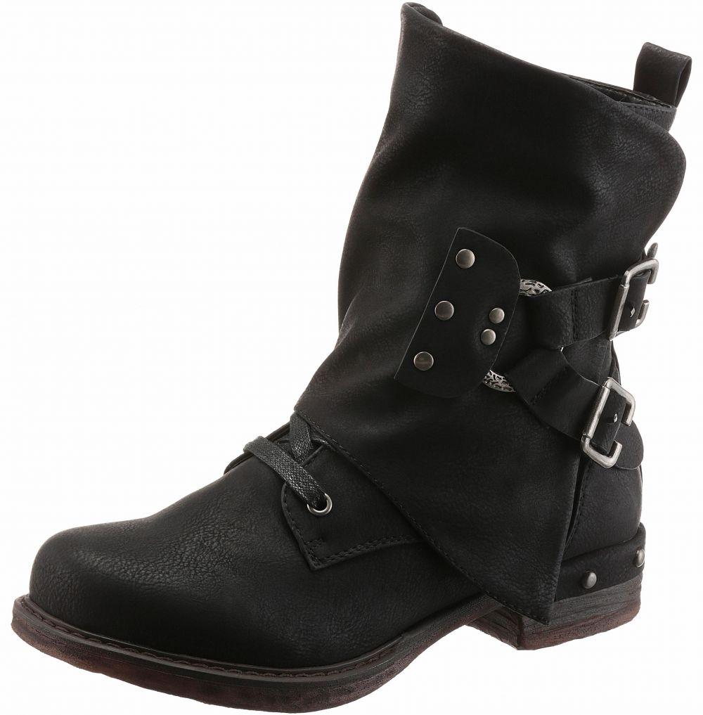 5db58e33f3302 Rieker Šnurovacie topánky vysoké, štýlový vzhľad Rieker značky ...