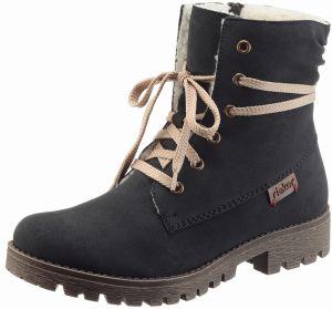 Rieker Zateplené šnurovacie topánky Rieker 369b70efcd7