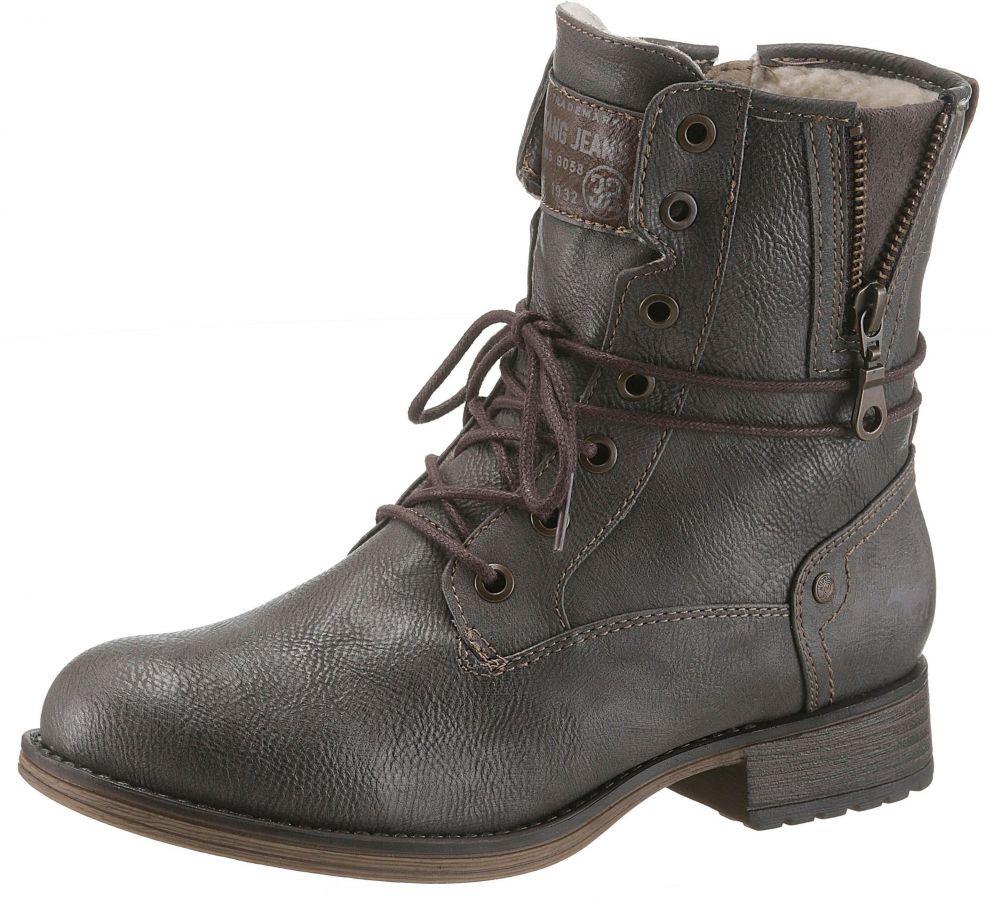 Mustang Shoes Zateplená obuv Mustang Shoes značky MUSTANG SHOES ... 2e36aac3248