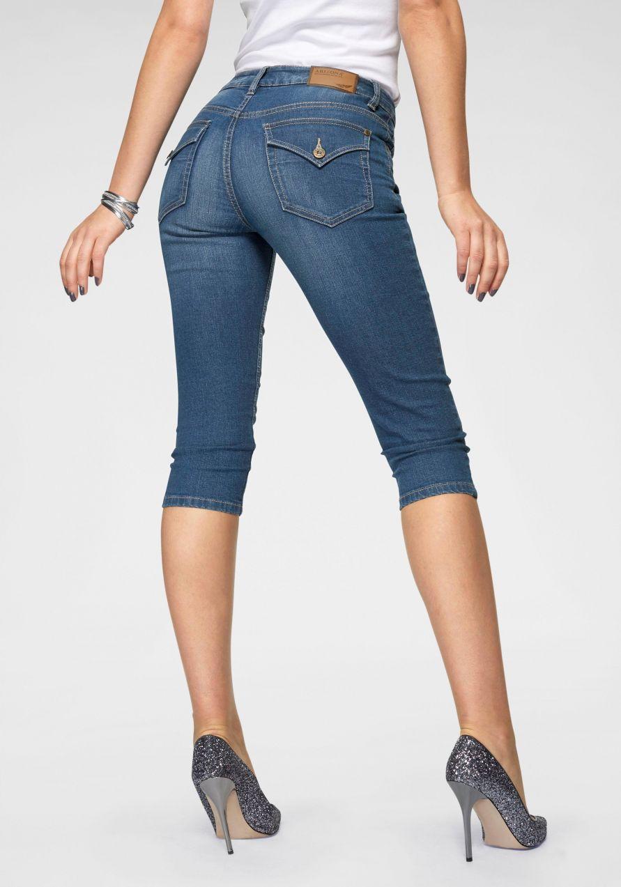 7ddb83489345 Arizona capri džínsy »s vreckami so záklopkami« Arizona značky ...