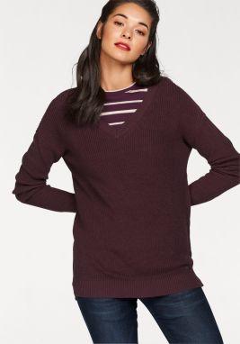 ca3105ed4ff0 AJC Dlhý pletený sveter