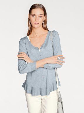 b36c0e066812 heine CASUAL Dlhý pletený sveter s výstrihom do V heine značky HEINE ...